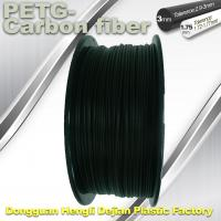 China High Strength Filament 3D Printer Filament 1.75mm PETG - Carbon Fiber Black Filament wholesale