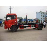 China 4X2  HOWO Hook Lift Lorry / Waste Management Trucks Small Garbage Transfer Station wholesale