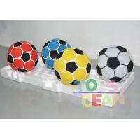 China Colorful Velcro Soccer Balls For Football Dart Board game Sticky Cover Football wholesale