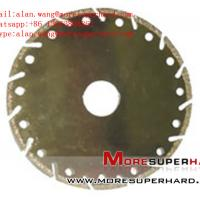 China Electroplated Diamond Cutting Blades, Discs for Marble alan.wang@moresuperhard.com wholesale