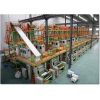China Automatic Wall Stone Paper Making Machine With Single Screw Extruder 220V/380V/440V/3P wholesale
