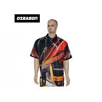 China Free Design All Over Sublimation Printed Colorful Golf T-Shirt wholesale