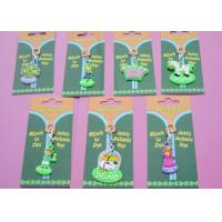 Cute Cartoon Shaped Soft PVC Zipper Pullers for Custom Promotional Gifts