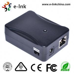 China IEEE 802.3af Gigabit POE Power Over Ethernet Splitter 5v - 12V DC Output For IP Camera wholesale