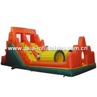 China Inflatable Wall Climbing Obstacle Course, Extream Inflatable Challenge Games on sale