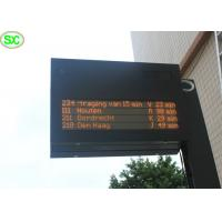 China High Resolution P10 Red Single Color LED Display Sign , 5 Years Warranty wholesale