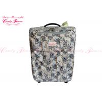 Quality Lightest Weight 21 inch luggage / suitcases with 4 wheels , Koala Climbing Bamboo Design for sale