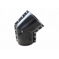 China C30 Grooved Mechanical Ductile Iron Clamp Saddle Tee A694 F42 wholesale