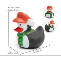 China Cute Deer / Penguin Christmas Rubber Duck Baby Tub Toys 6cm Length *4.5cm Height wholesale