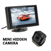 China Black Sony CCD MINI Hidden 700TVL IR Night Vision Car  Box Camera wholesale