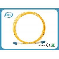 China Duplex Single Mode To Multimode Fiber Patch Cord / Blue Fc To Lc Fiber Patch Cord on sale
