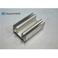 China EN-755 Standard Aluminium Window Profiles Mill Finish Aluminium Extrusion Profile wholesale