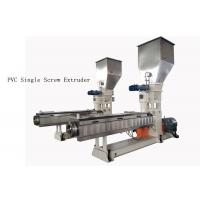 China custom PVC Single Screw Extruder neader Hot Cutting Pelletizing System wholesale