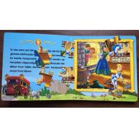 Quality Coated Paper Children'S Puzzle Books For English Learning ISO FSC SGS for sale