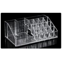 Quality Acrylic Holder 16 Storage Box For Tattoo Ink Permanent Makeup Display Shelf for sale