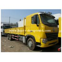 China Transportation 6x4 Cargo Howo Cargo Truck 290hp paylaod 13 tons ISO / CCC wholesale