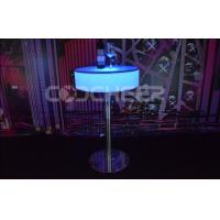 Quality Lighted Plastic Furniture Round Water Resistant LED Pool Table for sale