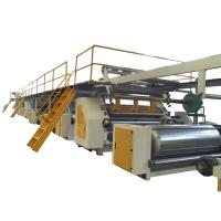China Stable Corrugated Cardboard Production Line 5 Ply Steam Heating High Efficiency on sale