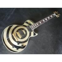 Best quality Electric Guitar circle white and black