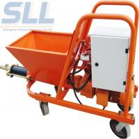 China 7.5kw Mortar Cement Spraying Equipment 3 Phase Mortar Spraying Machine wholesale