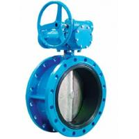 AWWA C504 Resilient Sealing Triple Offset Butterfly Valve Ductile Iron DN200