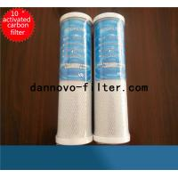 China Coconut shell CTO Activated carbon block filter industrial water filter cartridge wholesale
