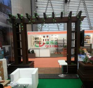 China Rot Resistance Garden Pergola Kits , Composite Pergola Kits Fading Resistance wholesale