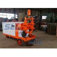 Quality Fully Hydraulic Cement Mortar Pump Mobil Concrete Pump Fast Speed 110L min for sale