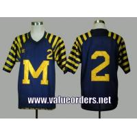 China Michigan Wolverines Charles Woodson 2 Navy Blue Under The Lights College Football Jersey wholesale