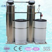 Quality Water Purification Automatic Water Softening Equipment Stainless Steel tank for sale