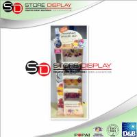 China Health care easy assembling point of sales corrugated cardboard  display wholesale