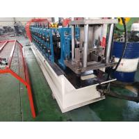 China Computer Control Steel Door Making Machine , Rolling Shutter Strip Making Machine on sale