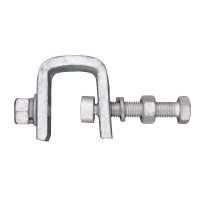 China OPGW Shield 70mm2 Pole Down Cable Clamp For Tower wholesale