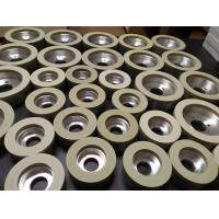 China vitrified diamond grinding wheels for PCBN and PCD tools wholesale