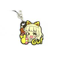 China Fashionable PVC Rubber Keychain Custom 3D Effect Promotional Giveaways wholesale