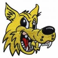 China machine Embroidery design digitizers wolf WCR10901 for T-Shirts and Blanket wholesale