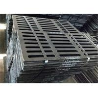 China Sidewalk Cast Iron Gully Grid Shock Absorption Environmental Protection on sale
