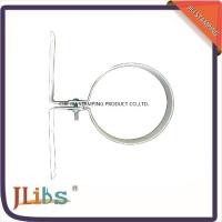 China 124Mm Size White Painting Hydraulic hose clamps Popular in the Netherlands wholesale