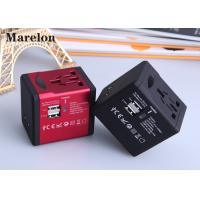 China Residential Commercial Travel Power Adapter Five Colors Option Plug With Socket on sale
