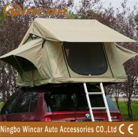 China 3 - 4 Person car Top Tent Water resistance polyester for Trailer wholesale