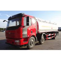 China 20T Diesel Crude Oil Tanker Truck 6×4 JIEFANG FAW 223hp 20CBM / Fuel Delivery Tanker on sale