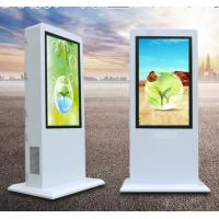 China Dedi 55 inch double sides Double Sided Totem LCD Screen Advertising Outdoor Android System Ad Display wholesale