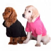 China plain pink dog hoodie small dog puppies for sale pet clothes-pet clothing-dog on sale