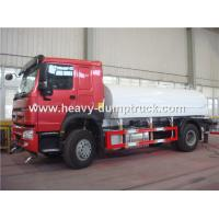 Quality SINOTRUK HOWO Fuel Tank Truck 4x2 13 CBM With Waboc Brake System And HW70 Cabin for sale