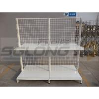 Buy cheap Cash Counter Shelf End Cap Supermarket Gondola Shelving 30KG - 50KG Capability from wholesalers
