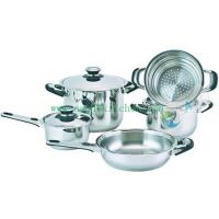 China 8Pcs Stainless steel cookware set SHXM1017BS on sale