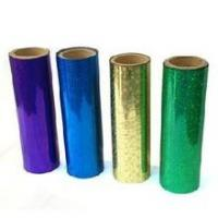 China Flat Hot Holographic Stamping Foil For Greeting Card / Food Packing wholesale