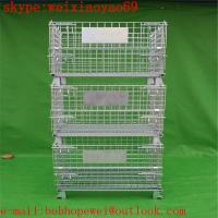 China storage pallet  cage/security cage /metal storage cage/steel storage cabinets/steel sheds  from HENG YOU factory wholesale