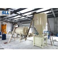 China Automatic Feeding Dry Mix Mortar Production Line With River Sand Cement Fly Ash Material on sale