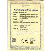 HONG KONG AUTUMN SOLAR TRADING CO., LIMITED Certifications
